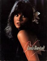 LINDA RONSTADT 1977 SIMPLE DREAMS TOUR CONCERT PROGRAM BOOK / EX 2 NEAR MINT