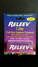 Releev 1 DAY Cold Sore Symptom Treatment .20 oz (6 ml, 6 cc)