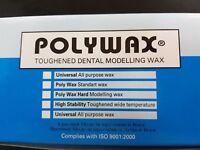 POLYWAX – 500 GR. TOUGHENED DENTAL MODELLING WAX DENTAL IMPLANT