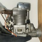Saito 150 RC Engine with Propeller, Muffler & Mount Untested But Does Have Comp