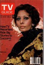 1980 TV Guide October 18 - Sophia Loren; John Davidson; Vikings; Sneak Previews