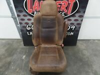 06 F250 King Ranch Brown Leather Passenger Seat
