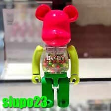 Medicom 200% Bearbrick ~ My First Baby Pink Be@rbrick Bandai Chogokin Neon Color