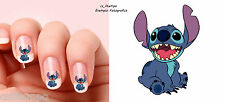NAIL ART STICKER DECAL 20 CARTOON STITCH LILO CARTONE GEL ACRILICO RICOSTRUZIOE