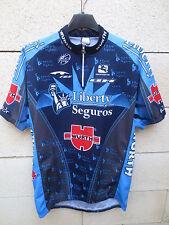 Maillot cycliste LIBERTY SEGUROS camiseta shirt jersey Tour 2005 Contador XXL 6