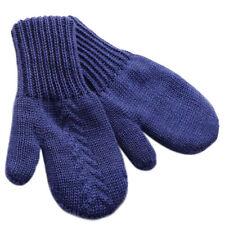 Baby Boys' Seamless Mittens, 1T-5T, Merino Wool Blend, Blue