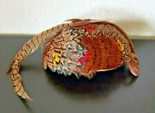 New listing Great Vintage Swartz Co. Norfolk, Va Women's Pillbox Hat with Pheasant Feathers