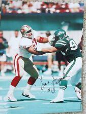JESSE SAPOLU SF 49ers 4x Super Bowl 19 XXIX AUTOGRAPHED 8x10 signed Photo HAWAII