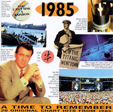 1985: 20 Original Chart Hits by Various Artists (CD, Aug-1997, A Time To...