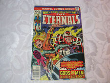 THE ETERNALS VINTAGE 1970'S MARVEL COMIC 6 DEC  T*