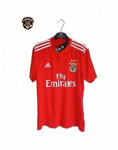 NEW SLB SL Benfica Football Home Shirt 2018-2019 (2XL) Adidas Portugal Jersey