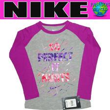 "Nike Girls Size 6 ""So Perfect It Hurts"" Long Sleeve Shirt"