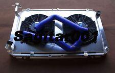 Aluminum radiator + shroud + fans + radiator hose for Patrol GQ Y60 4.2 Diesel