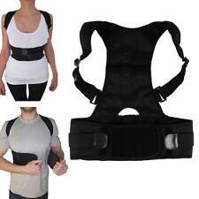Adjustable Posture Corrector Support Correction Back Lumbar Shoulder Brace Belt