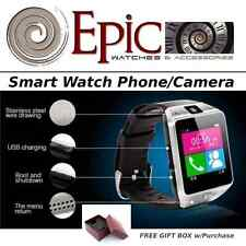 EPIC Bluetooth Smart Watch Phone-Call/Answer Camera Music Games Video Health