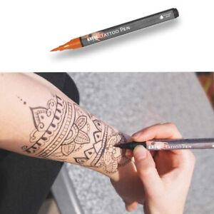 KREUL Tattoo Pen Tattoo Stift Skin Henna Marker Hautschreiber Make Up Hobby Line