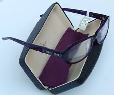 JUDITH LEIBER 1642 READERS READING GLASSES +1.50 PURPLE NEW$440 AUTHENTIC JAPAN