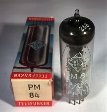 PM84 Telefunken Vacuum Tube NOS NIB Tested Strong (More Available)