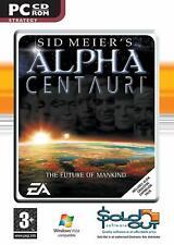 SID MEIER'S ALPHA CENTAURI COMPLETE inc ALIEN CROSSFIRE - PC CD-ROM