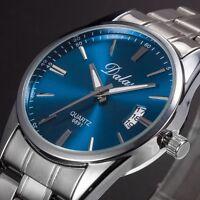 Luxus Herren Uhr Edelstahl Band Date Analog Quartz Sport Armbanduhr· MODE 2018