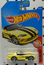 1995 YELLOW VIPER RT/10 ROADSTER CONV 281 MOPAR 9 BOYS DODGE 2017 HW HOT WHEELS