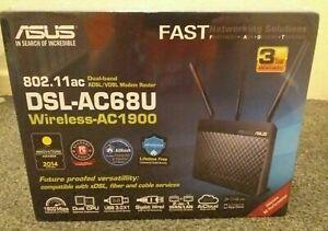 ASUS DSL-AC68U WiFi Modem Router - AC 1900 Dual-band