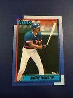 1990 Topps # 140 ANDRE DAWSON Chicago Cubs Set Break Sharp LOOK !
