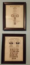 Hellraiser puzzle box schematics. 1 to 6 Reprints, 11x17 parchment paper