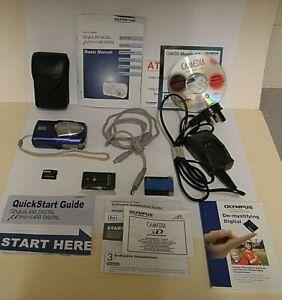 Olympus U mju 410 DIGITAL Camera (complete kit)