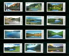 TAIWAN BEAUTYFUL ALPINE LAKES POSTAGE STAMPS ALL 3 SETS MNH