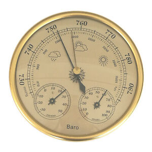 Wall-mounted household barometer, thermometer, hyometer, meteorological station