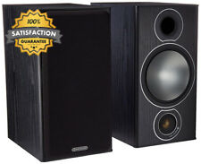 COPPIA DI MONITOR AUDIO 2-Way Altoparlanti Reflex (Bronzo 2 NERO)
