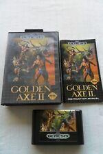 Golden Axe II (Sega Genesis, 1991) CIB Complete Tested Working