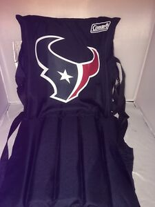 Coleman Houston Texans Stadium Seat roll-up carry strap brand new