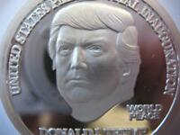 1-OZ.999 SILVER DONALD TRUMP 45TH PRESIDENT MAGA INAUGURATION GIFT BOX COIN+GOLD