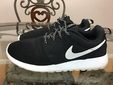 Nike Rosche One 844994-002 Woman Running Shoes Size 9 Black #007