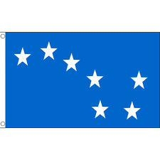Starry Plough Blue Giant Large Flag 8 x 5 FT Irish Republican 1916 Easter Rising