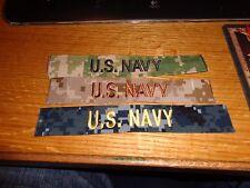 NWU DEVGRU Navy  patch NSW AOR2 AOR1 Type 1 2 3   PATCH SET NEW