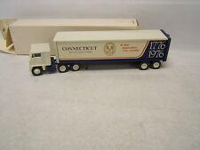 Winross Bicentennial Connecticut Diecast 1/64 White Cab In Box 1976