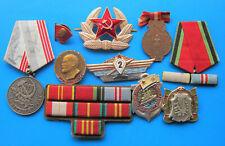 Set of Old Medals,Badges