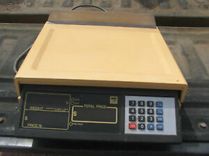 NCI WEIGH-TRONIX Model 3200  Scale Machine Commercial Restaurant