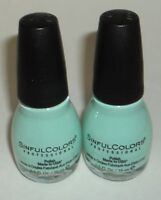 2 SINFUL COLORS Nail Color Polish APEASING 2194
