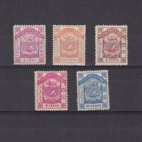 NORTH BORNEO 1886, SG# 22-29, CV £31, MH/NG/Used