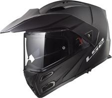 503241211m - Casco Moto Modulare Ls2 Metro Evo Ff324 Matt Black -taglia M-