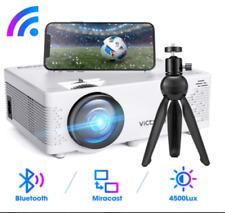 NEU 2020 WiFi Handy Projektor VicTsing Mini Beamer, Bluetooth 4500 Lumen 1080P