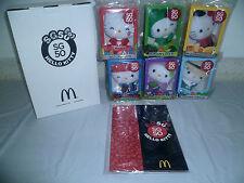 2015 McDonalds Singapore Golden Jubilee SG50 Hello Kitty Collector Box Set of  6