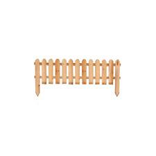 Recinzione steccato staccionata in legno di pino da esterno giardino cm 120 x 45