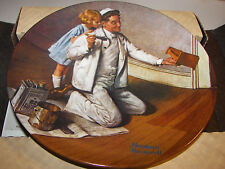 Norman Rockwell Plate The Painter 1983 #7 Knowles Heritage Collection Mib Coa