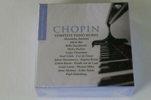 Chopin - Complete Piano Works (15 CDs) Gilels, Kocsis, Kissin, Ammara, Bar etc.