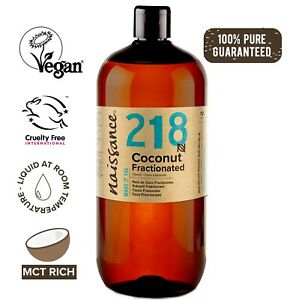 Naissance Coconut Fractionated Oil 1 Litre Perfect for moisturising and massage